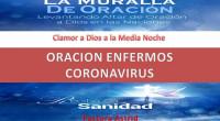 ORACIÓN EN CONTRA DEL CORONAVIRUS